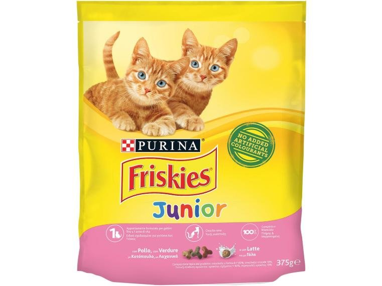 PetFood FRISKIES GATTO CROCCHETTE JUNIOR