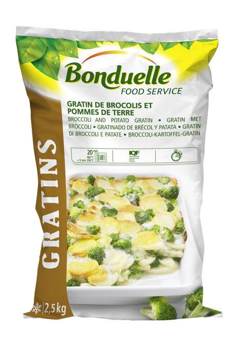 Bonduelle GRATIN BROCCOLI E PATATE 4x2,5kg  112662