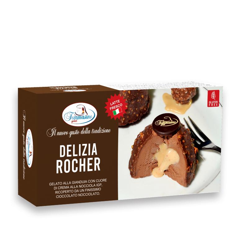 Tommasino Gelato DELIZIA ROCHER 2PZ