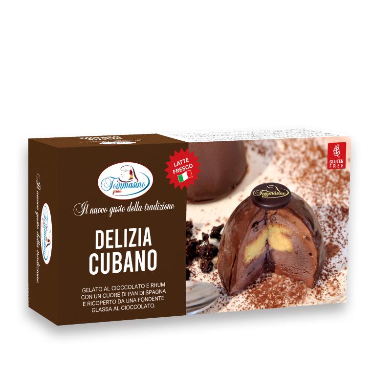 Tommasino Gelato DELIZIA CUBANO 2PZ