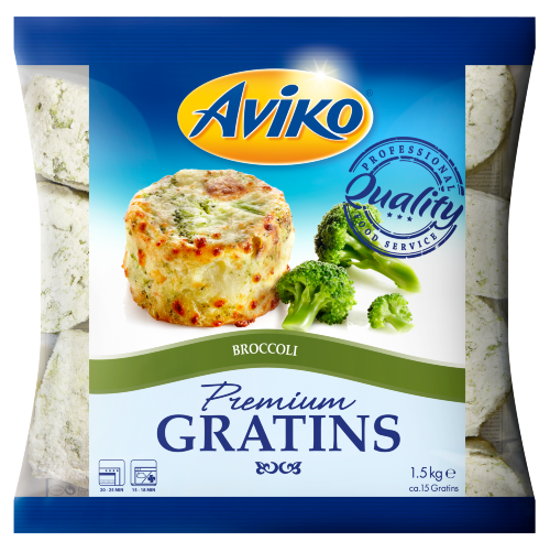 Aviko TORTINO DI PATATE BROCCOLI 1,5kg