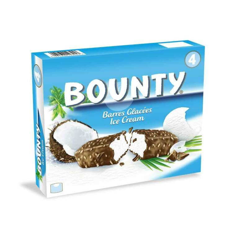 BOUNTY ICE CREAM 4PZ