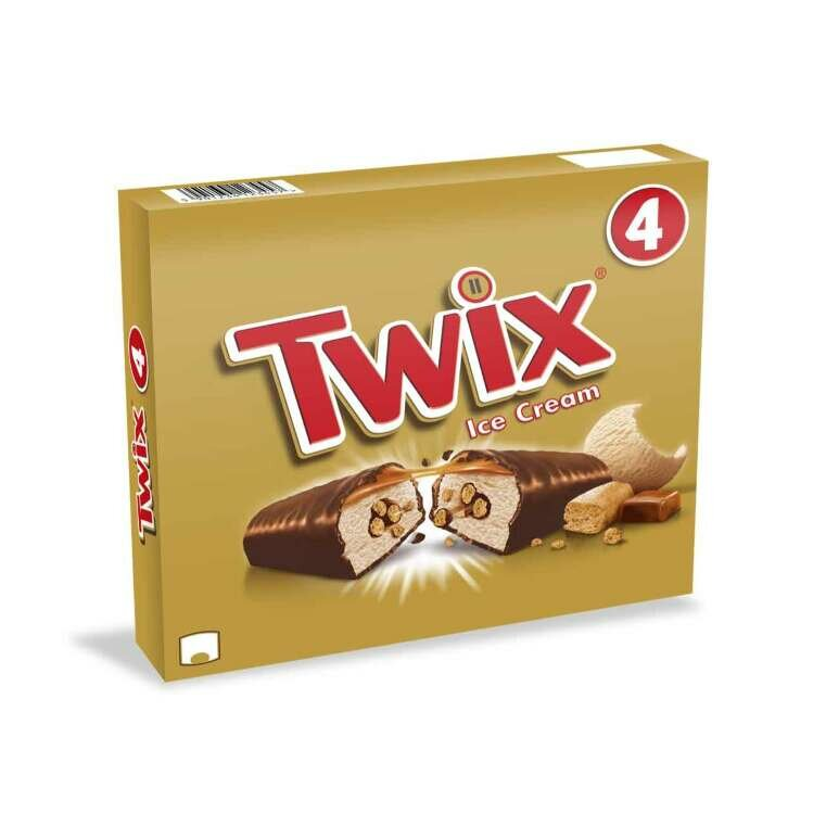 TWIX ICE CREAM 4PZ