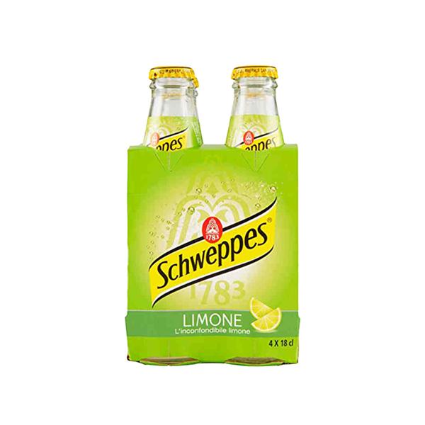 SCHWEPPES LIMONE 4x18cl