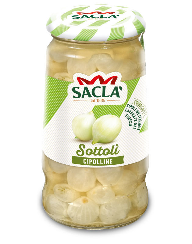 Sacla CIPOLLINE ACETO  300GR  (SGOCC.180GR)